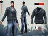 ! a d clothing   jacket  negan   blue