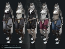 JOMO Female werewolf Clothing ALL5