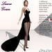 Laura Gown Black - Fashion Dream