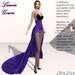 Laura Gown Violet - Fashion Dream
