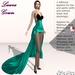 Laura Gown Teal - Fashion Dream
