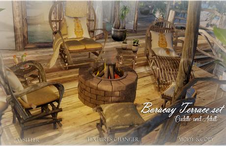 EVH Boracay  Terrace set