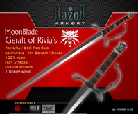 .::Razor::. >> The Witcher - MoonBlade (BOXED)