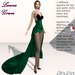 Laura Gown Green - Fashion Dream