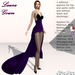 Laura Gown Purple - Fashion Dream