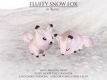.: Runic :. Fluffy Snow Fox