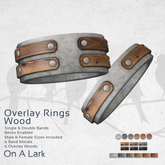 *OAL* Overlay Rings - Woods
