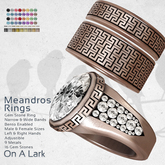 *OAL* Meandros Rings