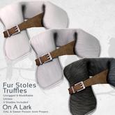 *OAL* Fur Stoles ~ Truffles