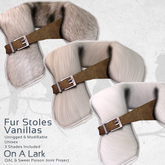 *OAL* Fur Stoles ~ Vanillas