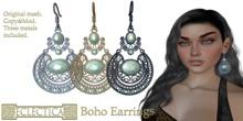 Eclectica Boho Earrings- opalescent
