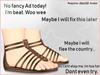 June 2.0 - Gladiator Sandals  x2