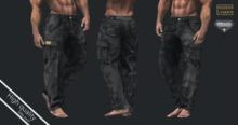 MCM - (Black) Militar Pants AESTHETIC