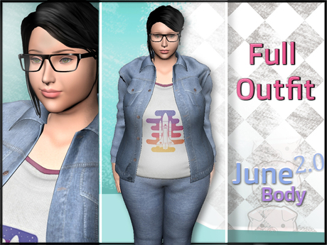June 2.0 - Denim Outfit