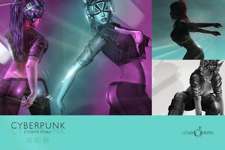 :studiOneiro: Cyberpunk set /poses/