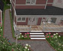 D-VINE DESIGNS BELLISSERIA VICTORIAN VERNE ADD ON-b patio pergola rails sidewalk 21li