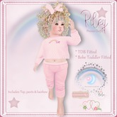 !!OUD Riley Promo Gift TDB & Bebe Toddler Fitted