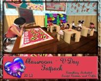 GP&D - Classroom Scene - V-Day - Fatpack w/Scene - M/T - Bento Poses