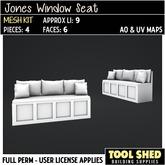 Tool Shed - Jones Window Seat Mesh Kit