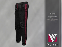 //Volver// Luke Jogger Pants - Black