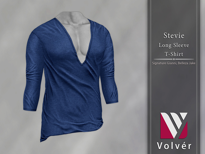 //Volver// Stevie T-shirt - Blue