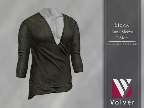 //Volver// Stevie T-shirt - Dark Army