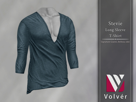//Volver// Stevie T-shirt - Seal
