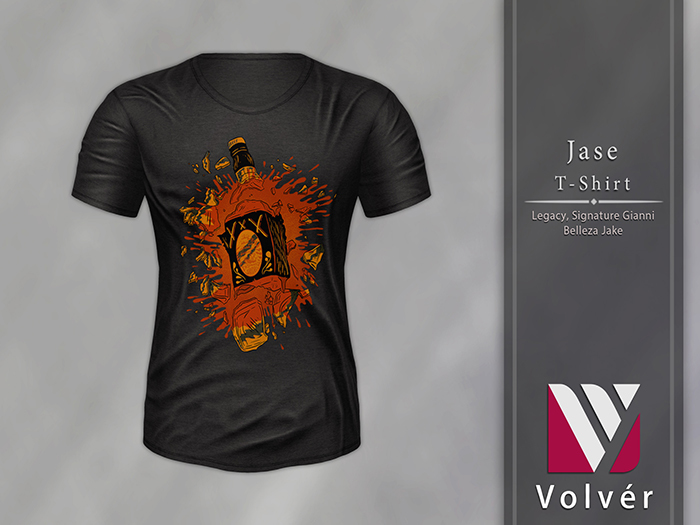 //Volver// Jase T-shirt - Black