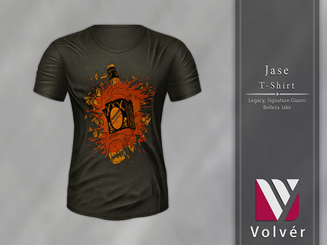 //Volver// Jase T-shirt - Dark Army