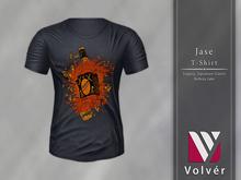//Volver// Jase T-shirt - Dark Slategray
