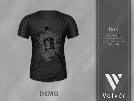 //Volver// Jase T-shirt - DEMO