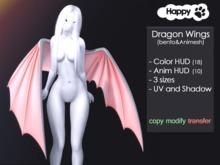 Happy Paw - Dragon wings (bento&animesh)
