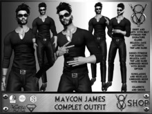 +DEMO +V8 SHOP+ MAYCON JAMES COMPLET OUTFIT 99+
