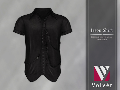 //Volver// Jason Shirt - Black