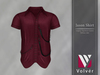 //Volver// Jason Shirt - Merlot