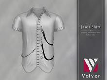 //Volver// Jason Shirt - White [ADD ME]