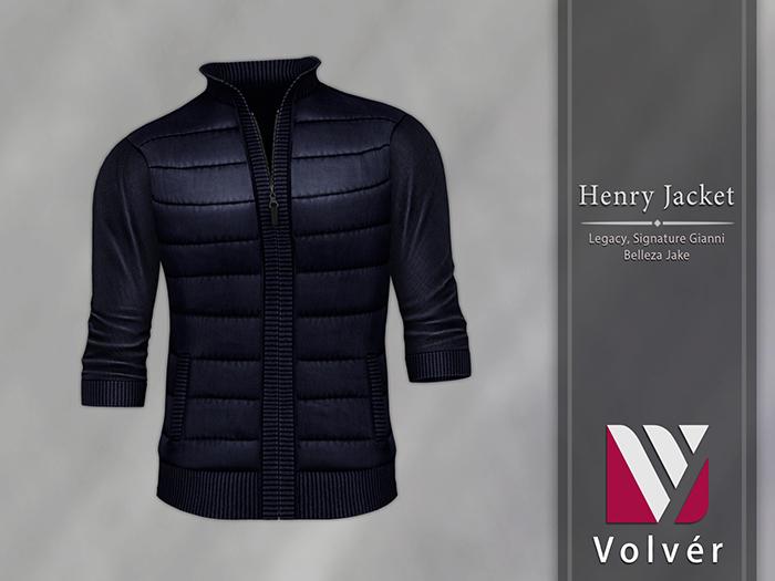 //Volver// Henry Jacket - Navy