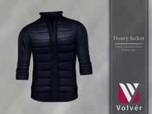 //Volver// Henry Jacket - Navy [ADD ME]