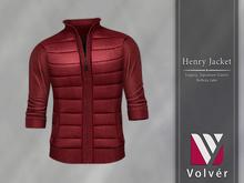 //Volver// Henry Jacket - Red