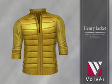//Volver// Henry Jacket - Yellow