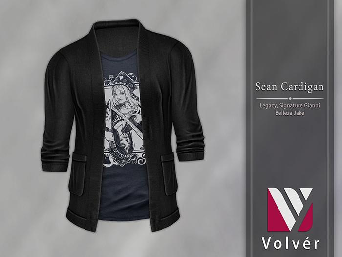 //Volver// Sean Cardigan - Black