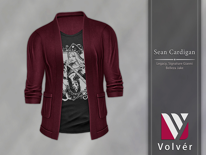 //Volver// Sean Cardigan - Merlot
