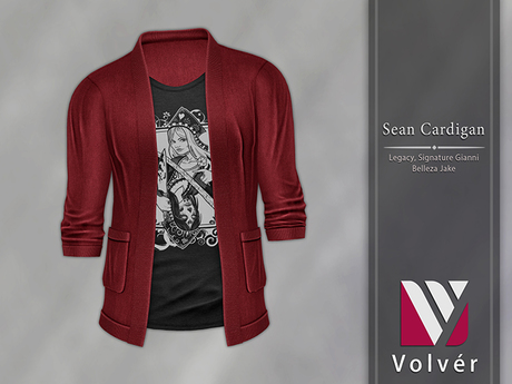 //Volver// Sean Cardigan - Red