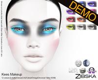 Zibska ~ Kees Makeup Demo [lelutka/genus/laq/catwa/omega/universal tattoo BOM]