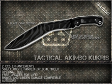 ++CCS Enhanced++ [M E S S E R  Co.]  Tactical Akimbo Kukris [CRATE]  v2.4