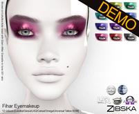 Zibska ~ Fihar Eyemakeup Demos [lelutka/genus/laq/catwa/omega/universal tattoo/BOM layer]