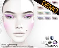 Zibska ~ Vitalia Eyemakeup Demos [lelutka/genus/laq/catwa/omega/universal tattoo/BOM layer]