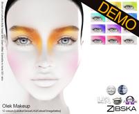 Zibska ~ Olek Makeup Demos [lelutka/genus/laq/catwa/omega/tattoo]