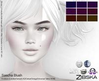 Zibska ~ Sascha Blush in 9 colors with Lelutka, Genus, LAQ, Catwa and Omega appliers and universal tattoo layers