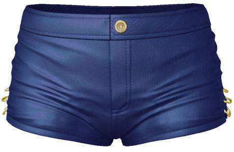 EVIE - EvilBae Shorts - Blue